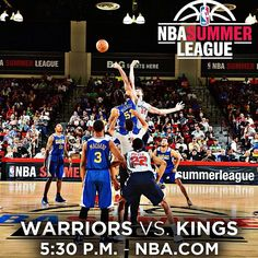 Going through #Warriors basketball withdrawals? Good thing the Dubs have another Summer League game today. Catch the 5:30 tipoff from Vegas live on your computer, tablet, or mobile device via NBA Summer League Live. Full coverage at warriors.com/summerleague