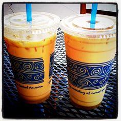 peet's iced coffee on a cold, windy wednesday!