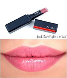Shiseido - From my HoMe Lip Makeup, Makeup Tips, Beauty Makeup, Makeup Ideas, Lipsticks, Estilo Madison Beer, Summer Lipstick, Lip Swatches, Makeup Products
