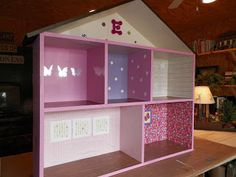 Everything In Between by Kelly & Tiffany: Crafts - How to Build a Barbie House