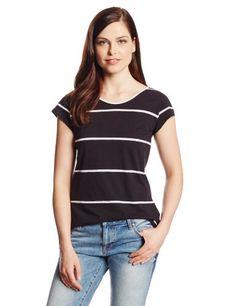 Calvin Klein Jeans Women's Scoopback Cap Sleeve Tee, Black, Large Calvin Klein Jeans http://www.amazon.com/dp/B00GWTNDEI/ref=cm_sw_r_pi_dp_9IvTtb0ZSGE4P79E