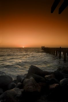 swakopmund sunset. by Maclete Sobradelo on 500px