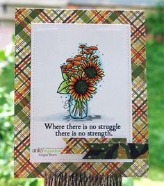 Struggle and Strength | Unity Stamp Co