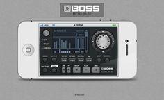 Boss BR-80 iphone app