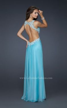 Shop La Femme evening gowns and prom dresses at Simply Dresses. Designer prom gowns, celebrity dresses, graduation and homecoming party dresses. Prom Dresses Blue, Pretty Dresses, Homecoming Dresses, Beautiful Dresses, Bridesmaid Dresses, Formal Dresses, Wedding Dresses, Dress Prom, Dress Long