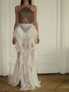Nora Sarman lace body and tulle skirt Lace Body, Tulle, Skirts, Stuff To Buy, Design, Tutu, Skirt