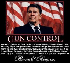 Hot Dogs & Guns: Ronald Reagan on Gun Control