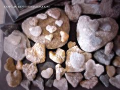 heart rock collection