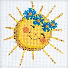 Good Morning Counted Cross Stitch Kit