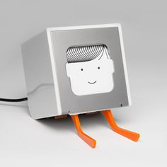 This literally is , a little printer! super cute and barely, I mean barely takes up any space at all. Click it to check it out, they have a great video that goes with it showing how it works!