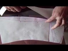 "como trazar el corset base Delantero ""Peticion"" - YouTube"