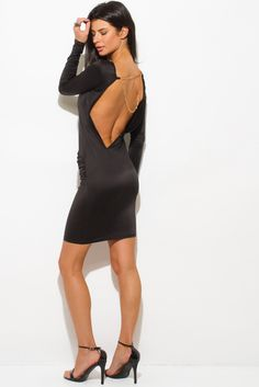 http://1015store.com/black-backless-long-sleeve-chain-bejeweled-bodycon-fitted-clubbing-midi-party-dress