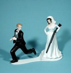 Bonecos de bolo de Casamento revelam o futuro!