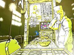 """The TV Show"" by Takayuki Manabe (Animated by Kousuke Sugimoto)"