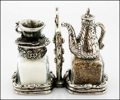 """Silvie Goldmark's collection of pewter figurines is totally charming. From kitchen accessories to contemporary designs, their """"Tabletop That Makes You Smile"""" is sure to enchant!"""