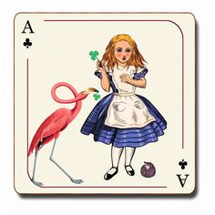 Avenida Home Alice in wonderland coaster (€7,05) ❤ liked on Polyvore featuring home, kitchen & dining, bar tools and filler