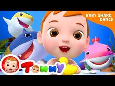 Baby Shark Song | Sing and Dance! |+More Tommy Nursery Rhymes & Kids Songs - YouTube Baby Shark Song, Baby Music, Kids Songs, Nursery Rhymes, Singing, Dance, Youtube, Fictional Characters, Dancing