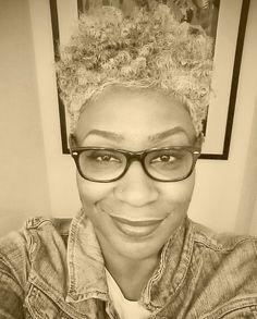 Omisade is Naturally Glam and Gray | Curly Nikki | Natural Hair Styles and Natural Hair Care