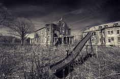 pennhurst state school and hospital. it has such a creepy history.