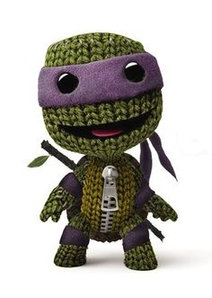 costume, donatello, little big planet, ninja turtles, sackboy