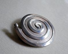 Vintage Maricela Sterling Silver Brooch Taxco by CalloohCallay