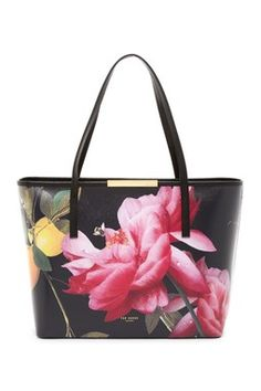 Joanie Citrus Bloom Leather Shopper Carry On 97b2b129b4d7a