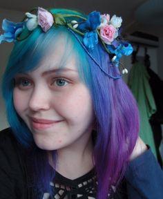 make a flower crown video
