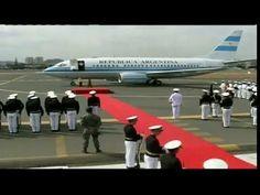 04 de DIC. Llegada de Cristina Fernández a Ecuador. Cumbre Unasur 2014.