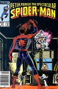 Peter Parker, The Spectacular Spider-Man # 87 by Al Milgrom
