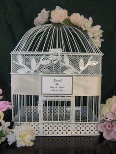 vintage style bird cage wedding card holder wedding card box holder birdcage wedding birdcage