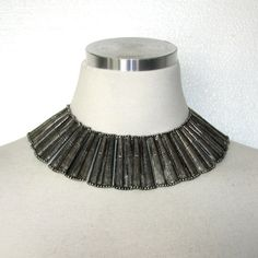 Vintage 70s Cleopatra Necklace / Choker by BreesVintageRevivals, $56.00