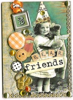 A collection of original art by Kris Dickinson, Copyright Kris Dickinson, Atc Cards, Bingo Cards, Card Tags, Art Trading Cards, Mixed Media Cards, Glue Book, Artist Card, Art Journal Pages, Junk Journal