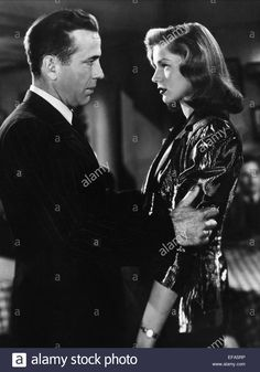 HUMPHREY BOGART & LAUREN BACALL THE BIG SLEEP (1946)