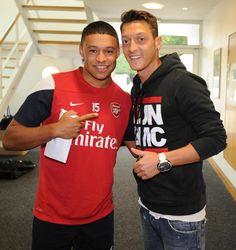 The Ox & Özil.