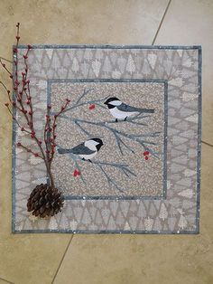 Chickadee-dee-dee Quilt Pattern from Annie's Craft Store. Order here: https://www.anniescatalog.com/detail.html?prod_id=140232&cat_id=1644