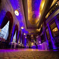 The Society Room in Hartford CT used to be a bank and offers a really unique setting for your wedding venue.