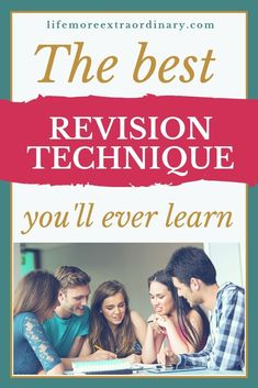 So many people write to me asking, what's the best way to revise? Here's the best revision technique I think you'll ever learn! Revision Strategies, Note Taking Strategies, Exam Revision, Best Study Techniques, Revision Techniques, Study Skills, Study Tips, Study Hacks, Learning Skills