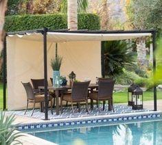 Retractable Canopy Pergola