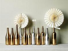 Cómo pintar botellas de vidrio   Decorar tu casa es facilisimo.com