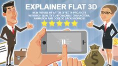 Explainer Flat 3D  • After Effects Template • See it in action ➝ https://videohive.net/item/explainer-flat-3d/10810605?ref=pxcr