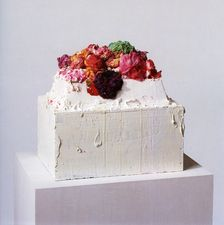 Cy Twombly. Cake sculpture.
