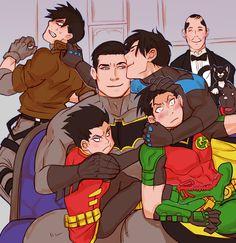 1146 Best Batfam images in 2019 | Batman family, Superhero, Bat family