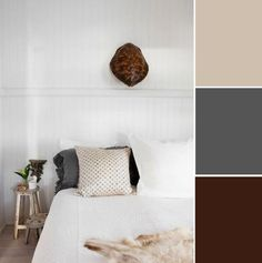 7 Soothing Bedroom Color Palettes: Creams, Grays & Browns
