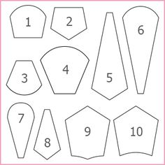 Shop | Category: English Paper Piecing Papers & Templates | Product: Dresdens