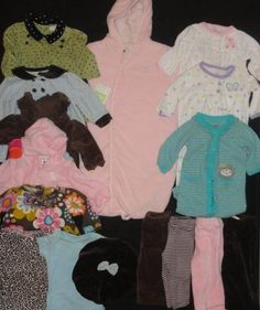 65aa4d45d Girls Spring Clothing 3 Months LOT NWTS EUC Carters Outfits Dress Sets  sleepers | eBay. Old Navy ...
