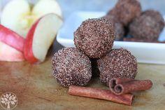 Apple Cinnamon Donut Holes {Grain-free} | The Earthy Mama