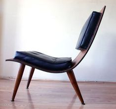 Bent Plywood Lounge Chair (side) by Stewf, via Flickr