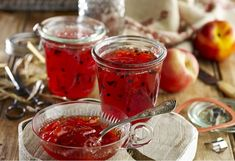 Better Homes and Gardens Quick peach and passionfruit jam recipe - Yahoo New Zealand Food Canning Syrup, New Zealand Food, Emergency Food, Jam Recipes, Recipies, Dehydrated Food, Stone Fruit, Recipe Link, Good Food