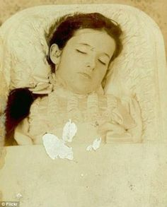 Victorian Post Mortem Tintypes The deceased were immortalized in photographs during the Victorian era. Victorian After-Death Photos Still Ha...