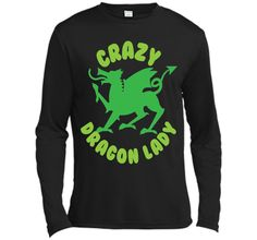 Crazy Dragon lady (green circle) T-ShirtFind out more at https://www.itee.shop/products/crazy-dragon-lady-green-circle-t-shirt-long-sleeve-moisture-absorbing-shirt-4072 #tee #tshirt #named tshirt #hobbie tshirts #Crazy Dragon lady (green circle) T-Shirt